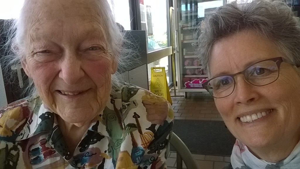 I was explaining what a selfie was to my 88 year old friend Roberta. She giggled.